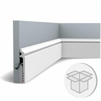 16er Box SX186 Fußleiste Orac Decor Contour Abdeckleiste