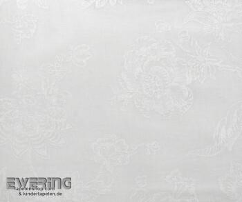 36-CHT22880107 Casadeco - Chantilly Voile weiß Blumenranken