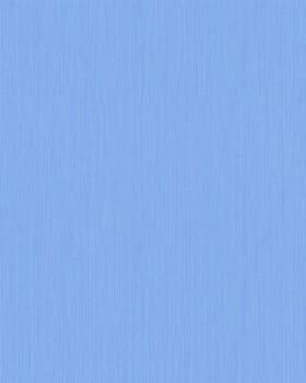 Vliestapete Streifen Himmel-Blau Uni