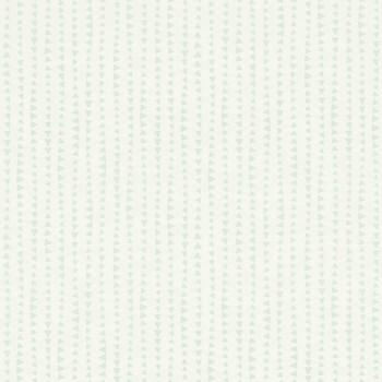 Mint-Grün Dreiecke Muster-Tapete