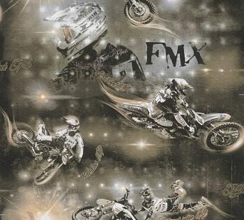 Tapete Bronze Motocross