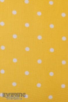 Kissenhülle Gelb Punkte