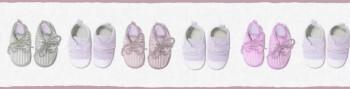 Borte Vlies Baby Schuhe Rosa