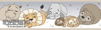 Safari-Tier Borte Taupe Baby