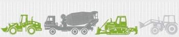Grün Traktor Vlies Borte