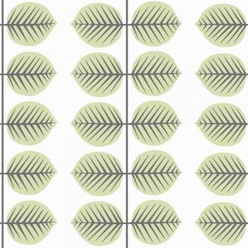 Tapete Blatt Grün