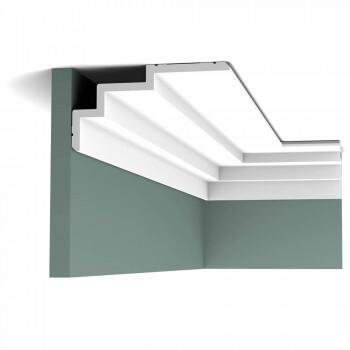Gardinenleiste C392 Orac Decor Steps Deckenleiste