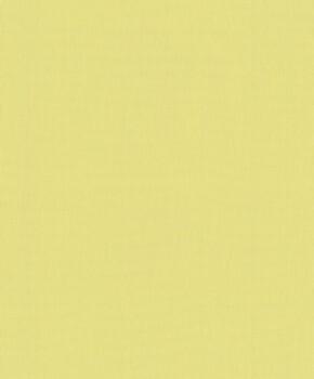 Vliestapete Gelb Uni
