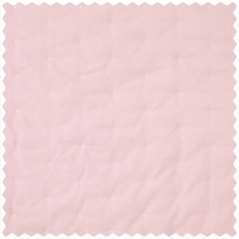Dekostoff rosa weiße Punkte
