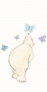 Eisbär Wandbild Xl