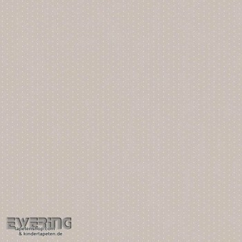 Grau Papiertapete Punkte Mädchenzimmer