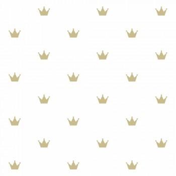 Tapete Kronen Gold