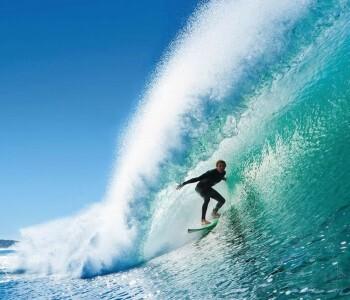 Surfer Fototapete Xl