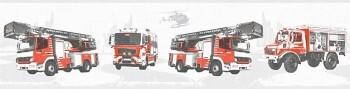 Borte Feuerwehr hellgrau Vlies