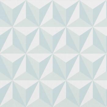 Vliestapete Grafisches Muster Hellblau