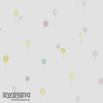 Luftballons Papiertapete Kinder