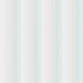Hellblau Streifen Vliestapete