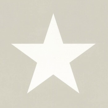 Sterne Vliestapete Grau