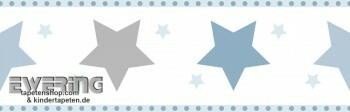 Hell-Blau Sterne Borte Junge