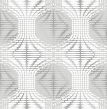 Rasch Textil 23-022628 Gravity Tapete silber Muster Retro