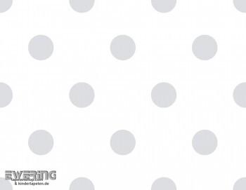 Punktetapete Grau Kinderzimmer