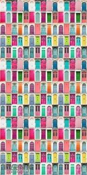 23-158607 Cabana Rasch Textil Fototapete Türen bunt Wohnzimmer