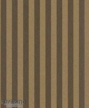 23-361840 Strictly Stripes Vlies-Tapete Streifen bronze