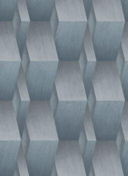 Tapete blau-graue 3D-Optik 33-1004608 Fashion for Walls