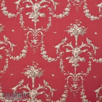 36-CHT15448111 Casadeco - Chantilly rot Dekostoff Ornament