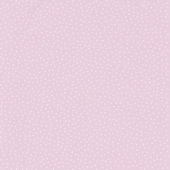 Vliestapete Rosa Weiße Punkte