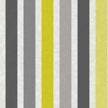 Vliestapete Streifen Gelb