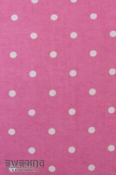 Punkte Pink Weiß Kissenhülle