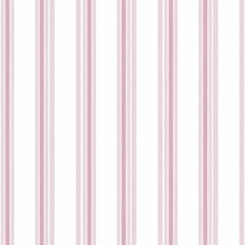 Tapete Streifen Rosa Mädchen