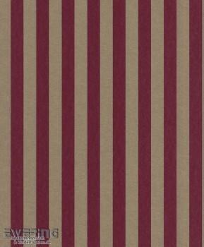 23-361826 Strictly Stripes dunkel-rot Vliestapete Streifen