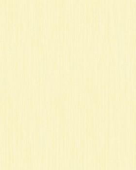 Vlies-Tapete Streifenmuster Gelb Uni