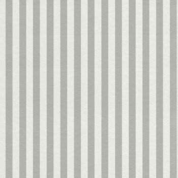 Grau Weiß Streifen Tapete Vlies