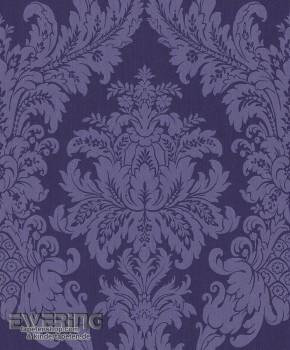 Rasch Textil Cassata 23-077338 Ornament dunkel-blau Textiltapete