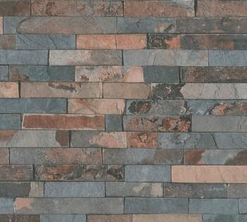 AS Creation Best of Wood'n Stone 35582-3 rot-grau Mauer Optik Vlies Tapete