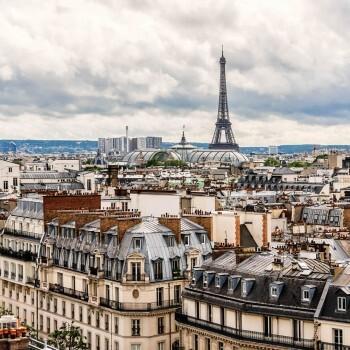 Paris Fototapete Wandbild Stadt