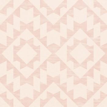 Rasch Textil Boho Chic 23-148676 Tapete Muster eckig altrosa