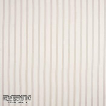 Deko-Stoff Streifen Grau Babyzimmer