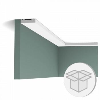 60er Box SX162F Flexible Fußleiste Orac Decor Square Multileiste