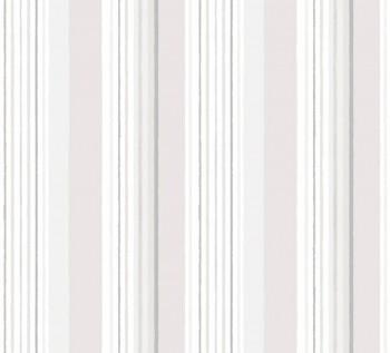 Tapete Papier Beige Graue Streifen Ohlala 335830
