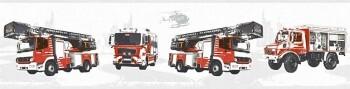 Borte Vlies Feuerwehr Weißrau