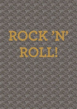 Leoparden Muster Wandbild Rock N Roll