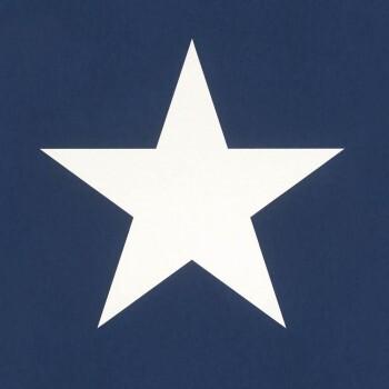 Vliestapete Sterne Blau