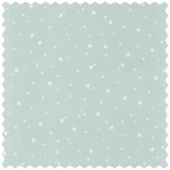 Dekostoff Blau Sterne