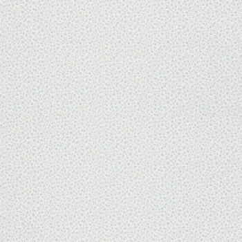 Mustertapete Blümchen Hell-Blau