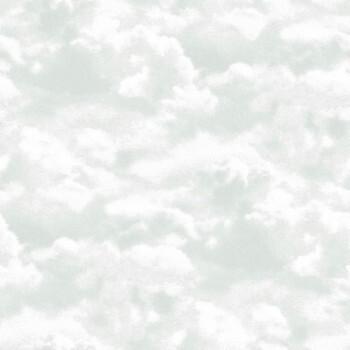 36-IRS68847006 Caselio - Iris Texdecor grün Vliestapete Wolken
