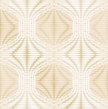 23-022633 Gravity Rasch Textil Retrotapete Muster gold gläzend